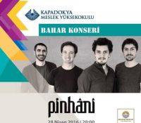 Pinhani Konseri-Kapadokya